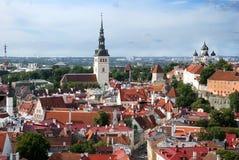 Medieval city Tallinn Stock Photography