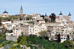 Medieval city Toledo, Spain Royalty Free Stock Photography