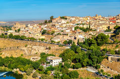 The medieval city of Toledo, a UNESCO world heritage site in Spain Royalty Free Stock Image