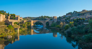 The medieval city of Toledo royalty free stock photo