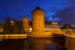 Medieval city tower and walls of Gdansk Royalty Free Stock Image