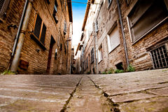 Medieval city Urbino in Italy. Urbino is a walled city in the Marche region of Italy, medieval town on the hill Stock Photos