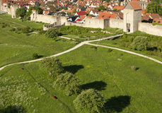 Medieval city Visby Royalty Free Stock Image