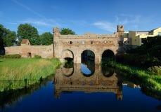 Medieval city wall Royalty Free Stock Photos