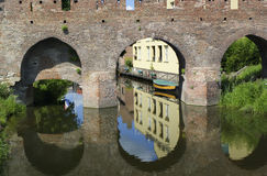 Medieval city wall Royalty Free Stock Images
