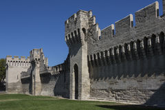 Medieval City Walls - Avignon - France Royalty Free Stock Image