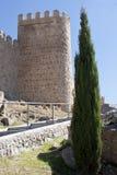 Medieval city walls of Avila Royalty Free Stock Photography