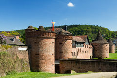 Medieval City Walls of Buedingen Royalty Free Stock Photo