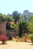 Medieval city walls of Toledo Stock Image