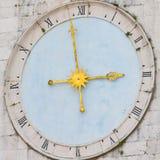 Medieval clock, Croatia Royalty Free Stock Photos