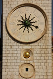 Medieval clock. Dubrovnik. Croatia Royalty Free Stock Photo