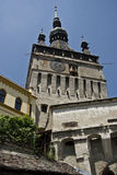 Medieval Clock Tower - Sighisoara Stock Photos