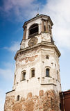Medieval clock tower in Vyborg Royalty Free Stock Photography