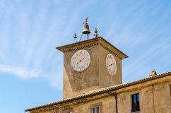 Medieval Clocktower Royalty Free Stock Photo