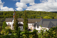 Medieval cloister Eberbach Stock Images