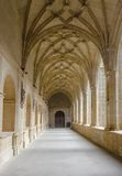 Medieval cloister in Spain Royalty Free Stock Photography