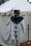 Medieval clothes Stock Images