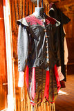 Medieval clothing Royalty Free Stock Images