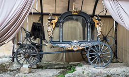 Medieval coach Royalty Free Stock Photography