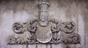 Medieval coat of arms Stock Images
