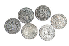 Medieval coins Royalty Free Stock Image