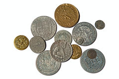 Medieval coins Royalty Free Stock Images