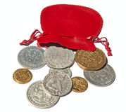 Medieval coins Royalty Free Stock Photo