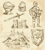 Medieval collection Stock Photos