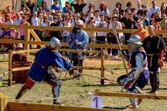Medieval Combat Stock Photo