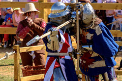 Medieval Combat Royalty Free Stock Photo