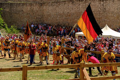 Medieval Combat Royalty Free Stock Photography