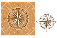 Medieval compass Royalty Free Stock Photos
