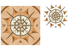Medieval compass Stock Photos
