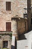 Medieval corner in Assisi Royalty Free Stock Photos