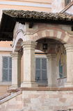 Medieval corner in Assisi Royalty Free Stock Images