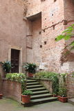 Medieval corner in Rome Royalty Free Stock Photos