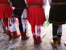 Medieval costumes Royalty Free Stock Photos