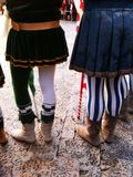 Medieval costumes Royalty Free Stock Image