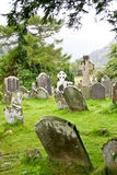 Medieval County Graveyard, Glendalough, county Wicklow, Ireland Stock Photo
