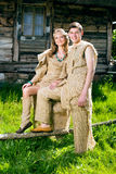 Medieval couple Stock Photography