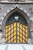 Medieval Courtyard Palace Door Royalty Free Stock Photography