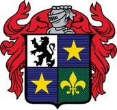Medieval Crest Stock Photo