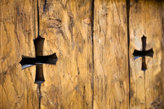 Medieval cross Royalty Free Stock Photo