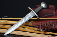 Medieval dagger replica Royalty Free Stock Image