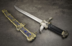 Medieval Dagger Royalty Free Stock Images