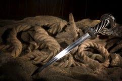 Medieval dagger Stock Image