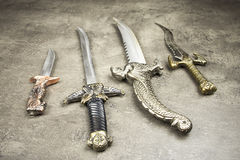 Medieval Daggers Stock Image