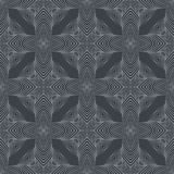 Medieval dark grey pattern Royalty Free Stock Images