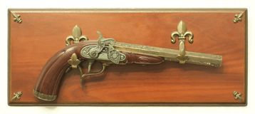 Decorative Flintlock Pistol Stock Photography