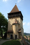 Medieval defence tower. At Biertan Fortified Church Royalty Free Stock Photography